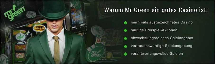 Gutscheincode Fur Mr Green Casino